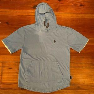 Kid's U.S. Poli Assn. Short Sleeve Hoodie L(14/16)